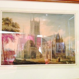 Lincoln Cathedral, John Buckler, 1799