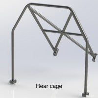 RENAULT CLIO 182 (Half Cage) 6 Point Bolt in Roll Cage