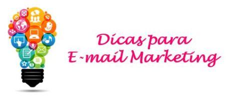 Dicas para E-mail Marketing