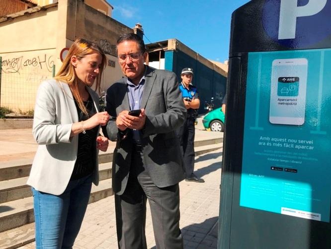 L'aplicació mòbil 'AMB Aparcament Metropolità' comença a donar servei a Badalona