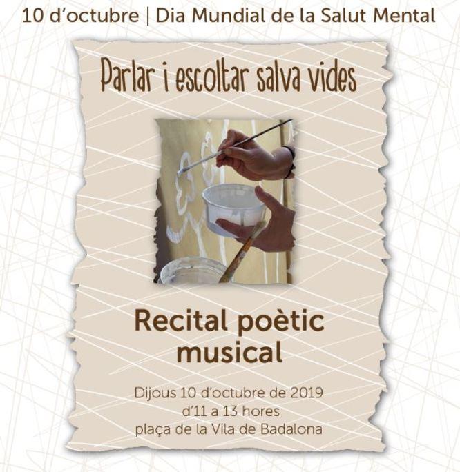 Badalona commemora aquest dijous 10 d'octubre el Dia Mundial de la Salut Mental