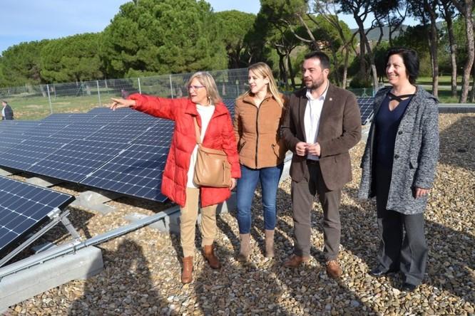 La nova planta fotovoltaica del Centre Sociosanitari El Carme és la més gran instal·lada en un equipament municipal de Badalona