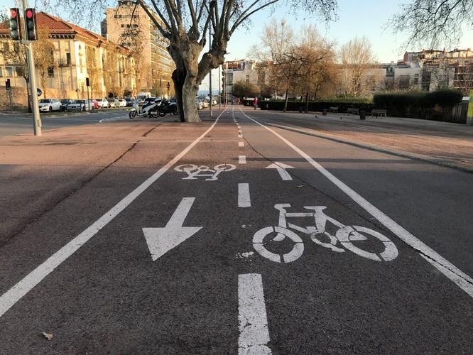 Badalona aprova inicialment el projecte d'implantació d'un carril bici entre el carrer Prim i Montgat