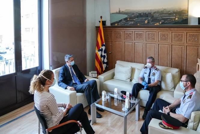 L'alcalde de Badalona demanarà a la Generalitat que reforci la presència policial a la ciutat durant aquest estiu en previsió de fer front a una gran afluència de visitants
