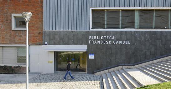 Resultado de imagen de biblioteca francesc candel