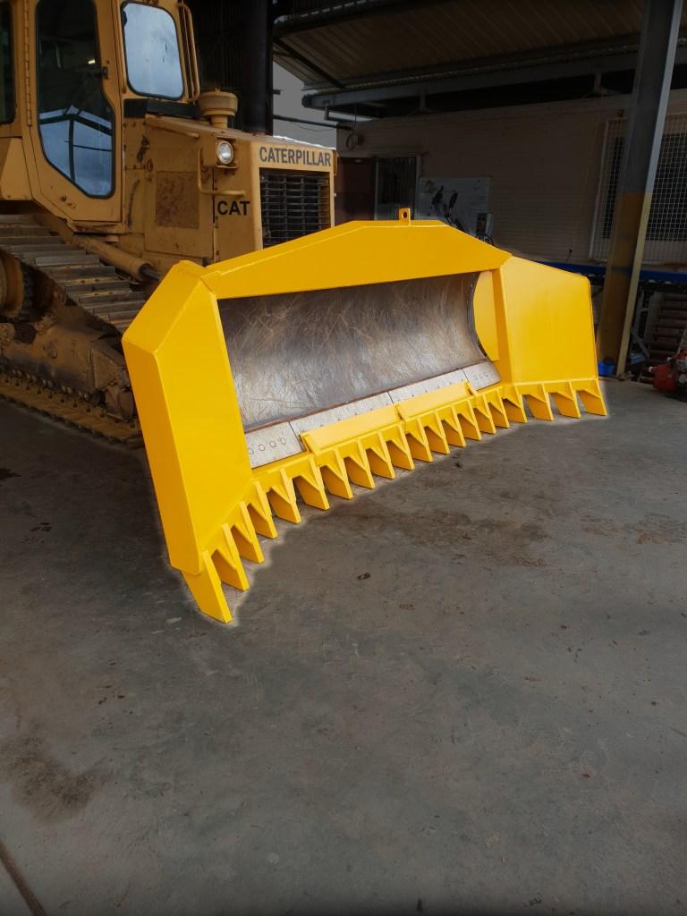 13ft drive in stick rake for Caterpillar D4