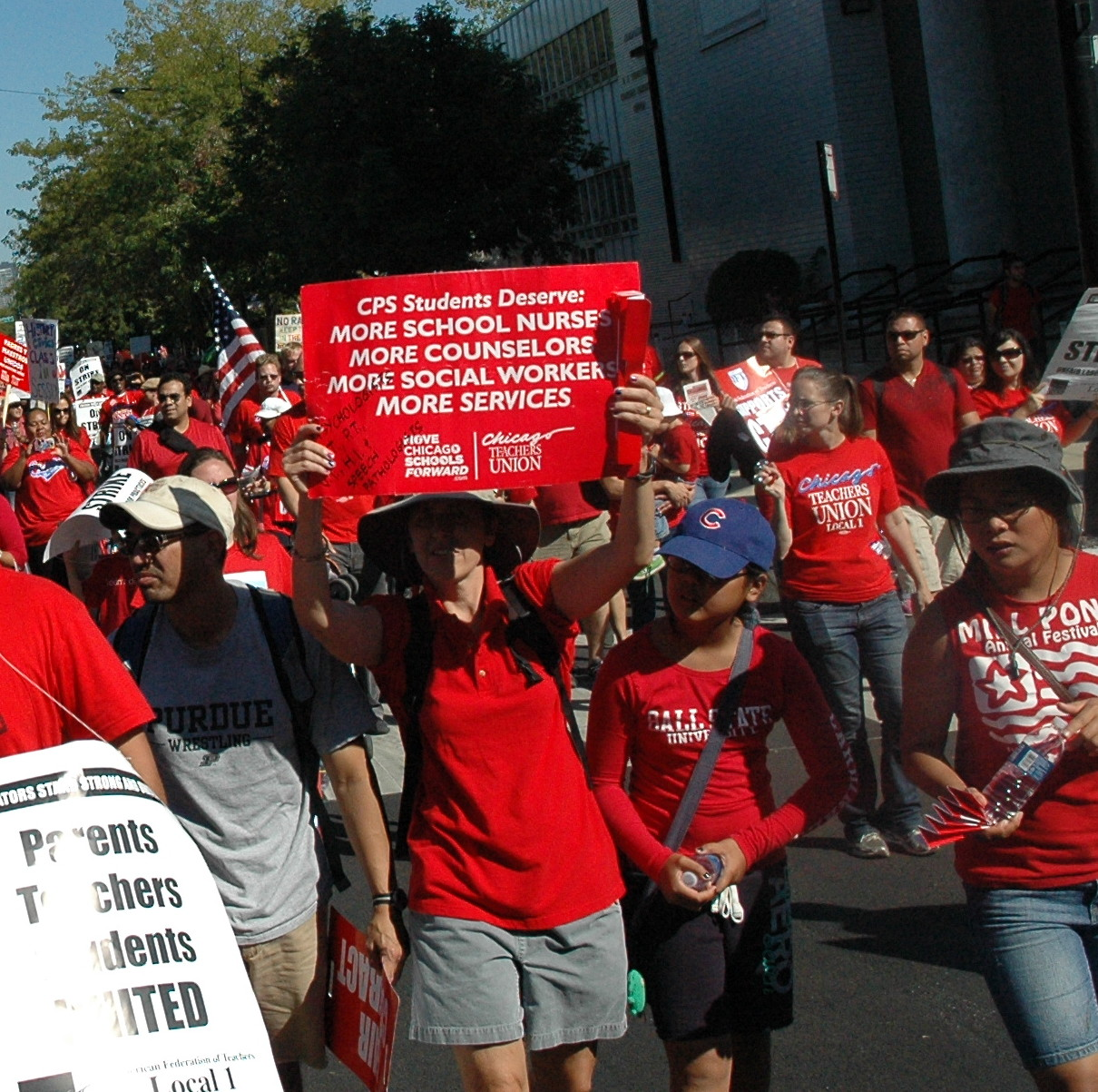 Cps Needs More Full Time Union Certified School Nurses A Just