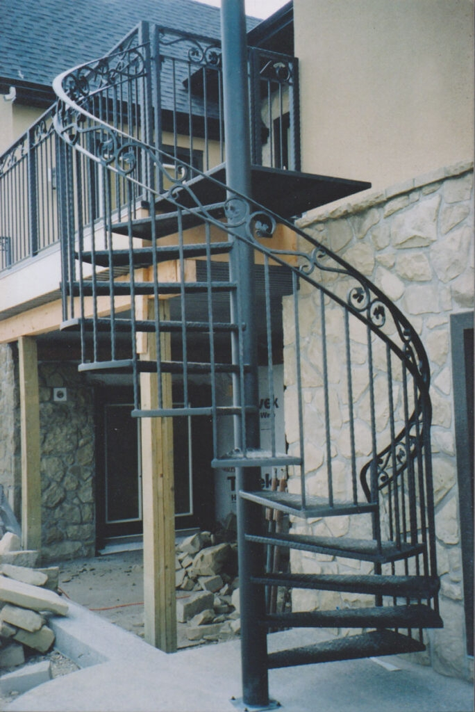 Custom Spiral Staircase Made In Calgary Aj Wrought Iron Ornamental   Black Metal Spiral Staircase   Spiral Stairs   Cat Spiral   Arke   Abandoned   Circle Metal