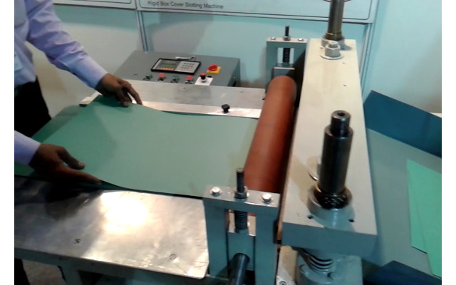 Automatic Office Spring File Creasing Machine