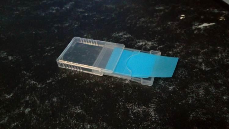 Plastic Slide Type Cassette
