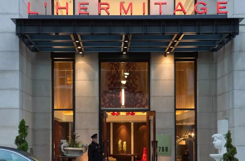 l hermitage hotel room reviews photos