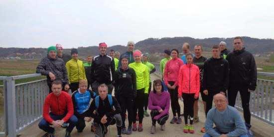 Trening Čevo – Grebengrad – start