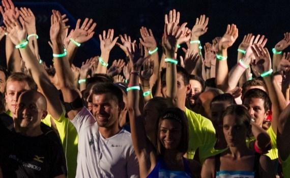 3. Grawe Noćni maraton - Dinko Solić na postolju
