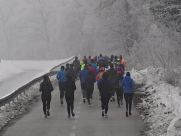 1. zimski polumaraton Varaždin