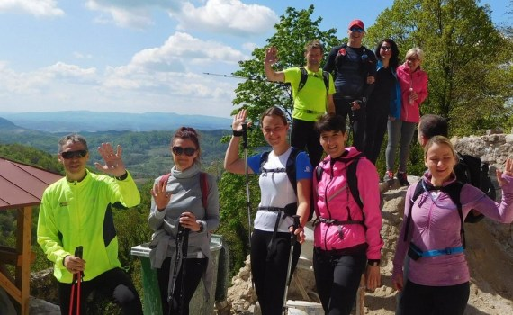 Trening Čevo - Grebengrad (17.04.2017.)