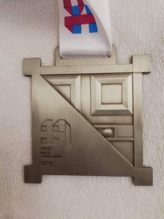 Medalja 19. Splitskog polumaratona