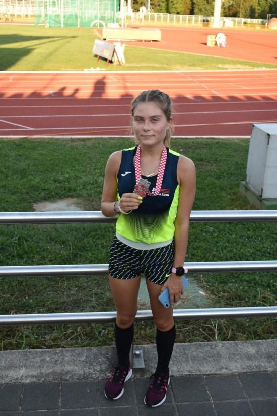 Simona Jambrošić - viceprvakinja Hrvatske na 5000 m