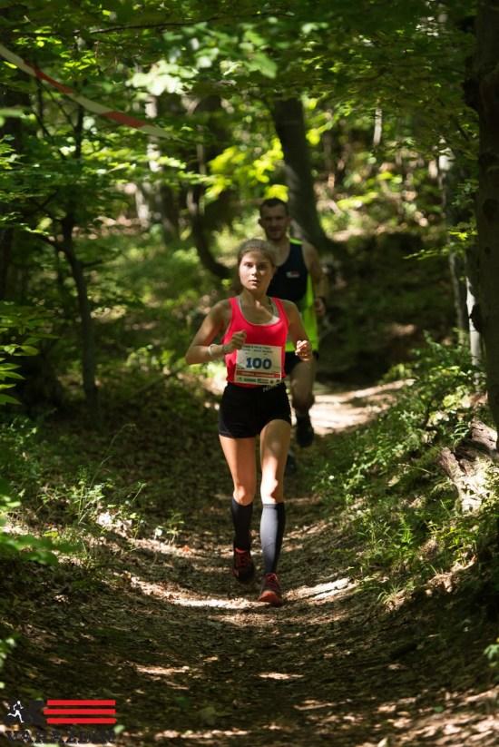 Simona Jambrošić, pobjednica na 14 km - 1. brdski maraton Ivanec - Novi Marof