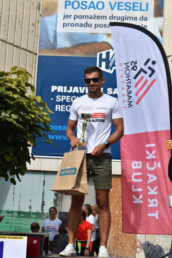 Dinko Solić 3. u utrci vatrogasaca - 26. Joma Varaždinski polumaraton