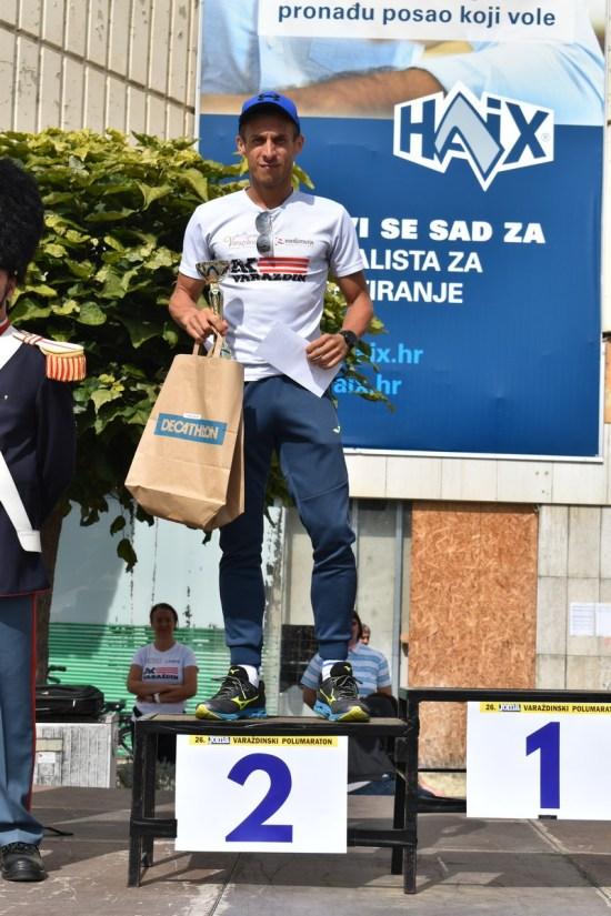 Andrej Hladnik osvojio 2. mjesto - 26. Joma Varaždinski polumaraton