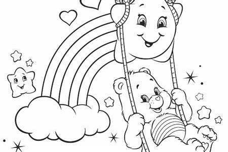 Free Printable Care Bear Coloring Pages For Kids Bears Pictures To Print And Color