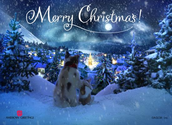 Peace On Earth Christmas Ecard American Greetings