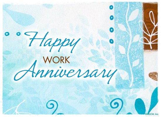 Year Happy Anniversary Work 8