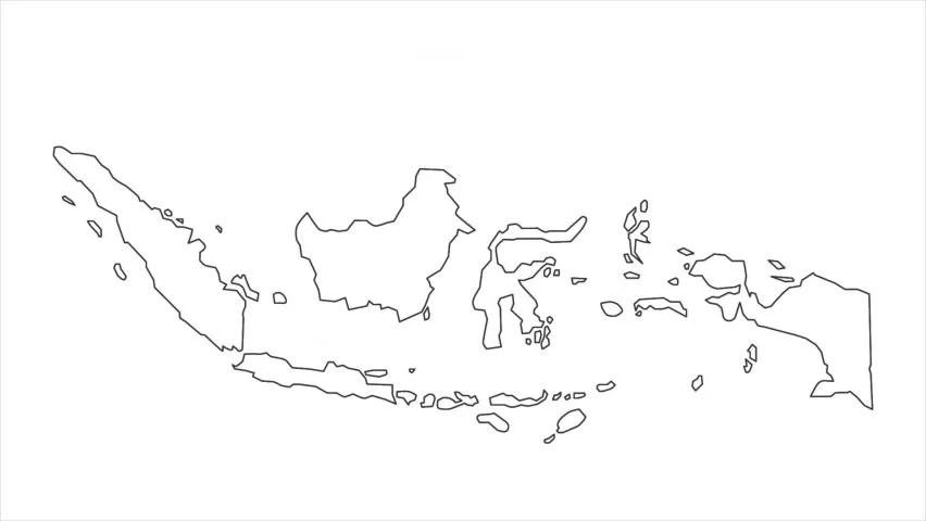 Berikut beberapa singkatan dari huruf yang digunakan dalam peta unggahan di atas: Indonesia Simple Map Stock Video Footage 4k And Hd Video Clips Shutterstock