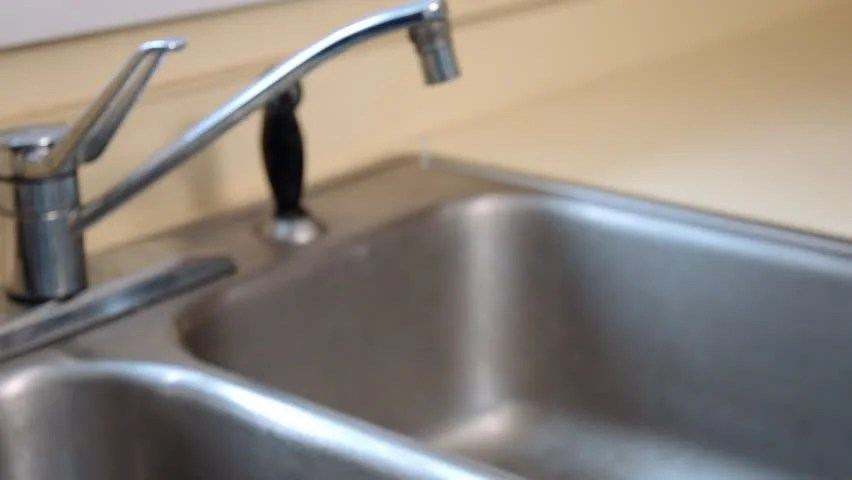 old kitchen sink move in stock footage video 100 royalty free 15524464 shutterstock
