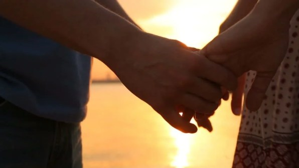 Man and Woman Holding Hands Stock Footage Video (100% Royalty-free) 15868867 | Shutterstock