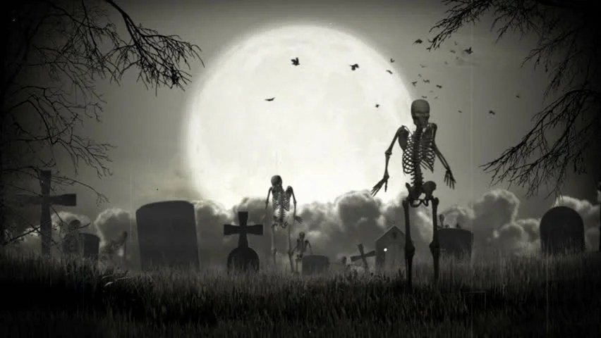 The user 'waterbaby' has submitted the dark halloween decor picture/image you're currently viewing. Dark Graveyard Halloween Time Stock Footage Video 100 Royalty Free 1594498 Shutterstock