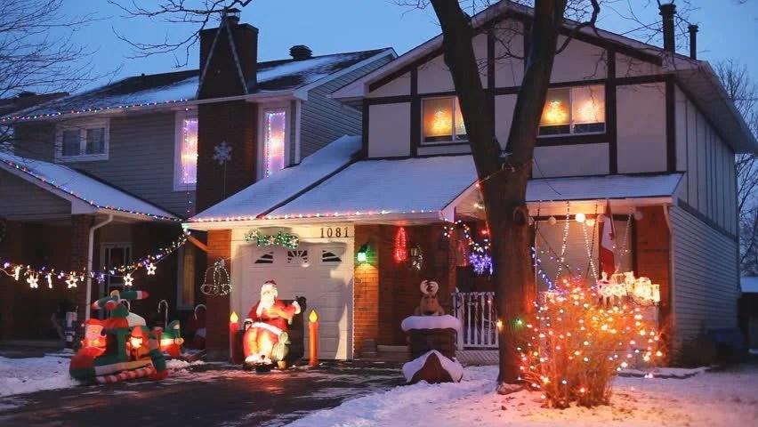Christmas Lights Outside Net