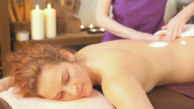 Cute Woman Gets Oil Massage  Ec 8a A4 Ed 86 A1  Eb 8f 99 Ec 98 81 Ec 83 81  Eb B9 84 Eb 94 94 Ec 98 A4100  Eb A1 9c Ec 97 B4 Ed 8b B0 Ed 94 84 Eb A6 Ac 4632680 Shutterstock
