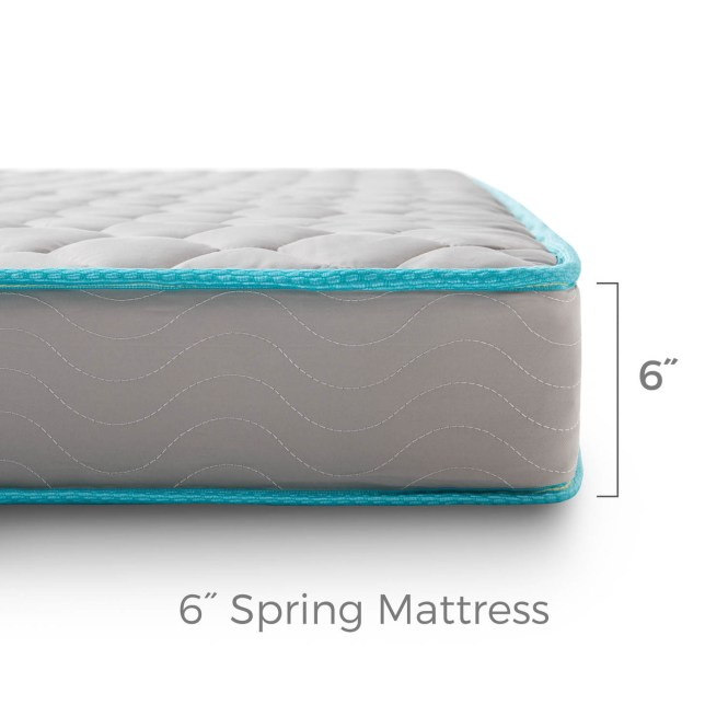 Linenspa 6 Inch Twin Innerspring Mattress Free Shipping Today 17650302