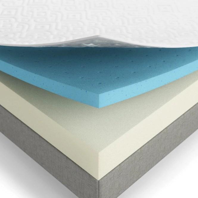 Lucid 8 Inch Twin Size Gel Memory Foam Mattress Free Shipping Today 17791862