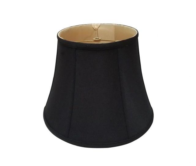 Royal Designs Modified Bell Black Lamp Shade 10  X 13 5