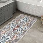 Antique Laundry Collection Runner Rug For Bathroom Hallways Overstock 30405219