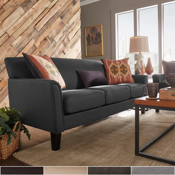 Shop Uptown Modern Sofa by iNSPIRE Q Classic   On Sale   Free     Shop Uptown Modern Sofa by iNSPIRE Q Classic   On Sale   Free Shipping  Today   Overstock com   3911915