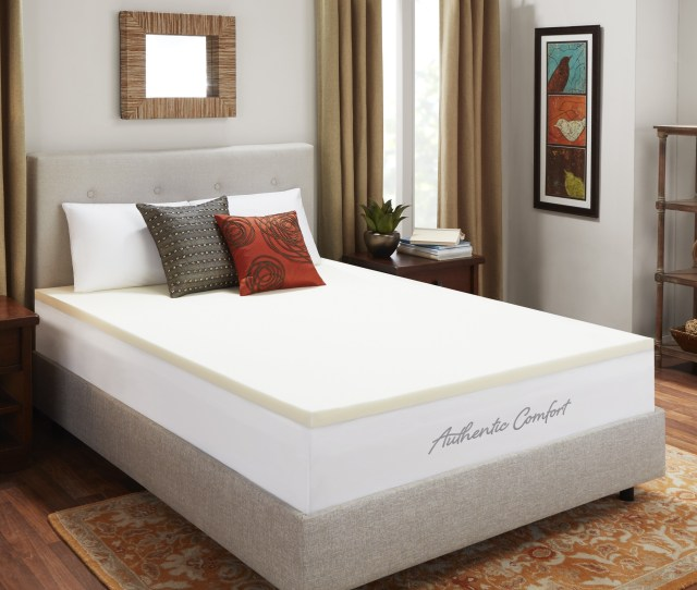2 Inch Breathable Memory Foam Mattress Topper