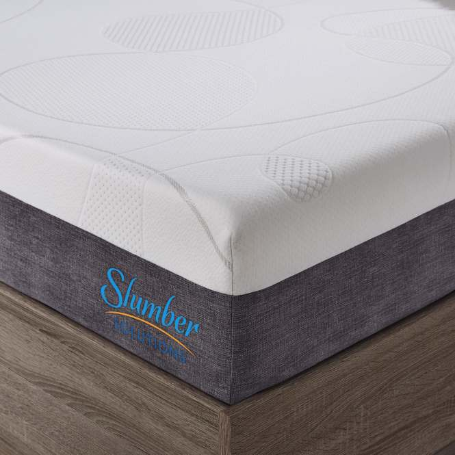 Slumber Solutions Choose Your Comfort 10 Inch Full Size Gel Memory Foam Mattress Free Shipping Today 15869712