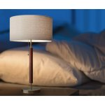 Shop Black Friday Deals On Adesso Hamilton Antique Brass And Walnut Table Lamp Overstock 22903257