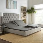 Sleep Sync Adjustable Bed Base Upholstered Split King Wireless Remote On Sale Overstock 27123431