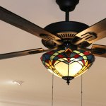Copper Grove Thionville 5 Blade Bronze And Stained Glass Ceiling Fan 52 L X 52 W X 20 H 52 L X 52 W X 20 H On Sale Overstock 27316973