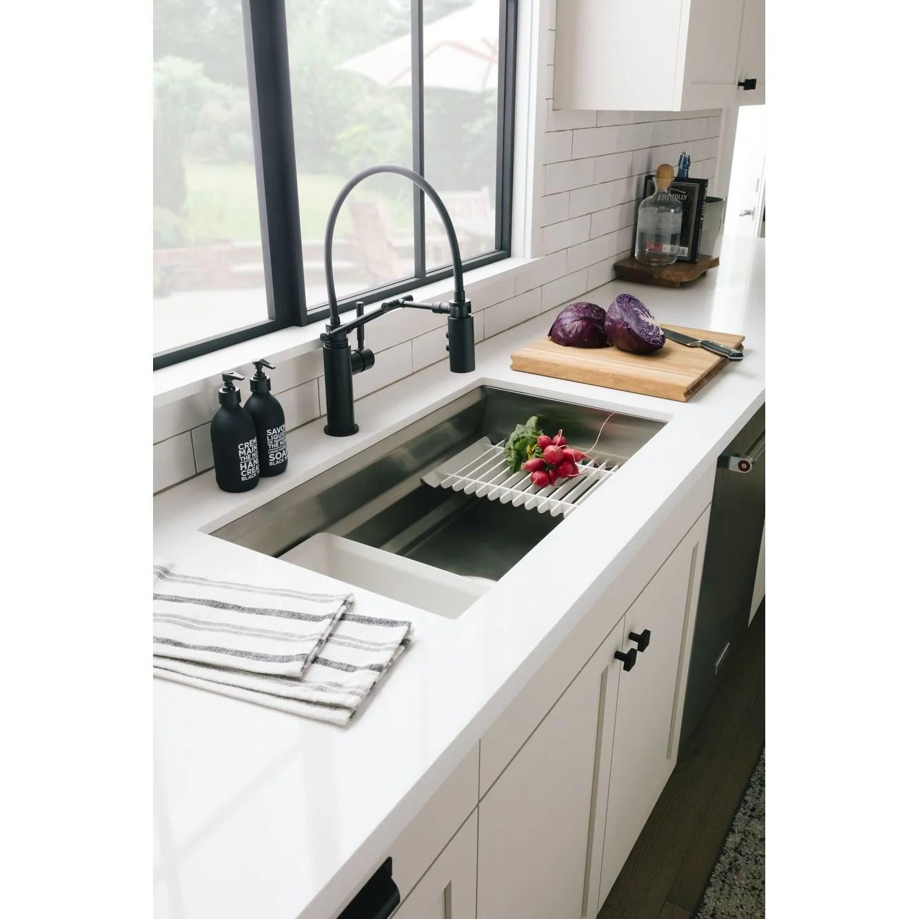 kohler k 5540 prolific 33 workstation single basin undermount kitchen stainless steel