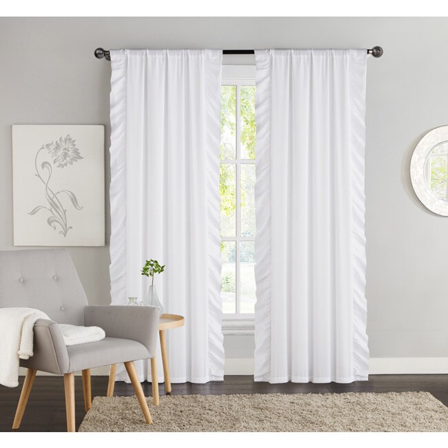 vcny amber blackout curtain panel pair 40 x 84 40 x 84