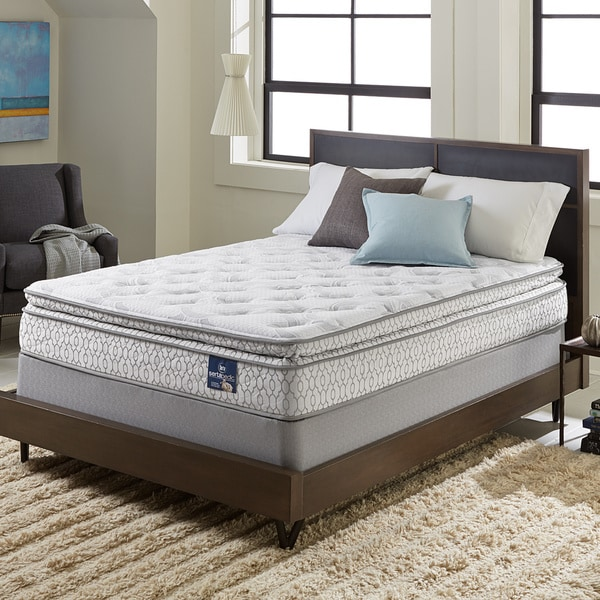 Serta Extravagant Pillow Top Queen Mattress Set