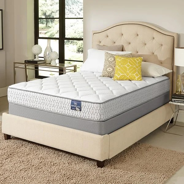 Serta Amazement Plush Full Sized Mattress Set