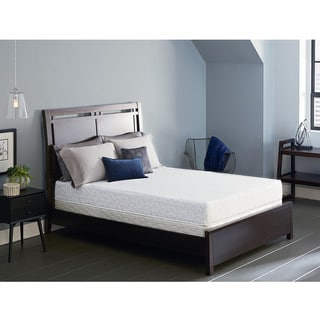 Serta Lure 8 Inch Full Size Gel Memory Foam Mattress Set