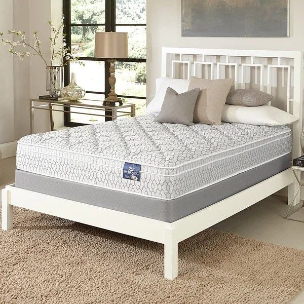 Serta Gleam Euro Top Full Size Mattress Set