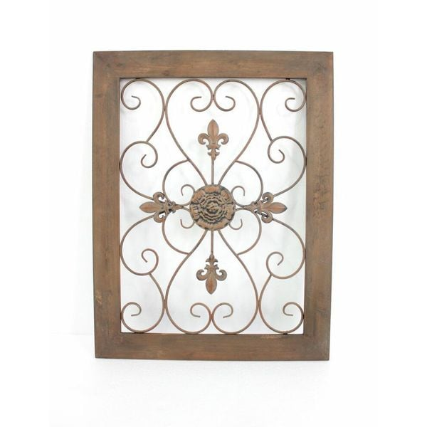 Wood Cross Picture Frame